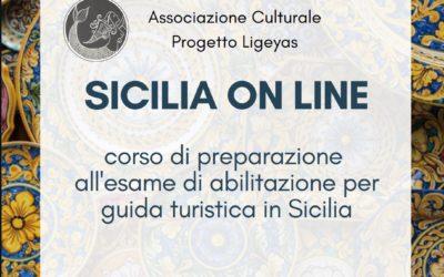Corso on line per la preparazione all'esame di guida turistica Regione Sicilia